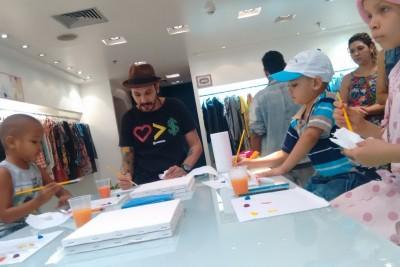 Euzaria promove oficina para os pacientes