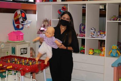 Deputada Tatiane Oliveira visita o GACC-BA