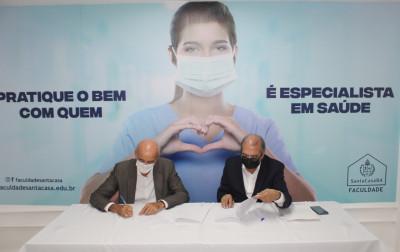 GACC-BA e Faculdade Santa Casa firmam parceria