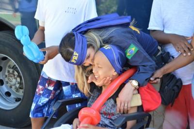 Polícia Rodoviária Federal realiza ação em apoio aos pacientes
