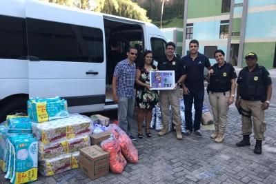 PRF entrega ao GACC-BA mais donativos arrecadados na campanha Crianças contra o Câncer