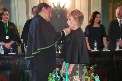 Nubia Mendonça é a nova membra da Academia de Medicina da Bahia