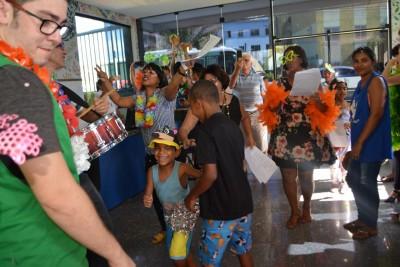 Bailinho agita carnaval das crianças do GACC - BA
