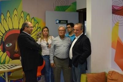 Colégio Anchieta conhece as instalações do GACC-BA