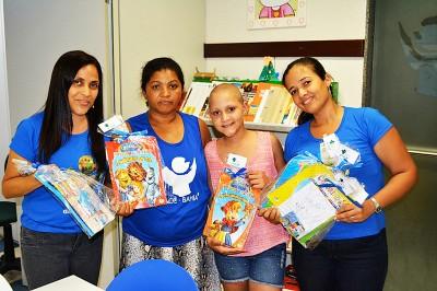Biblioteca do GACC-BA celebra aniversário de 8 anos