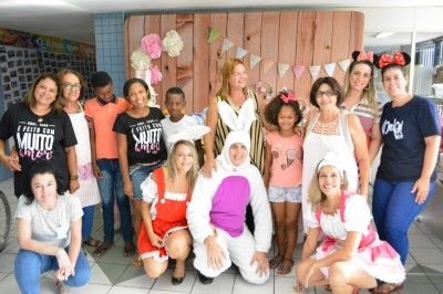 Pacientes ganham festa de Páscoa