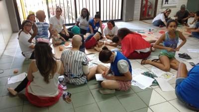 Visita do Grupo Doando um Sorriso ao GACC-BA