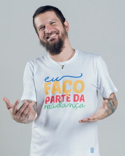 Saulo grava campanha em prol do GACC-BA e do Martagão Gesteira